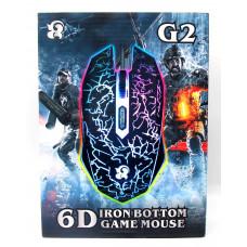 мышь проводная-игровая G2