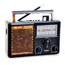радиоприемник NAKIYA Bluetooth USB SD аккумулятор RF-1312BT=AT-815