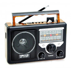радиоприемник NAKIYA Bluetooth USB SD аккумулятор RF-1313BT=AT-816