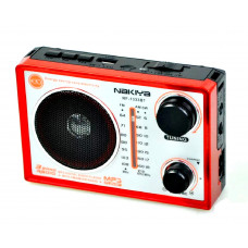 радиоприемник NAKIYA Bluetooth USB SD аккумулятор RF-1333BT (fm-64)