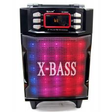 колонка чемодан GOLON 50см+Bluetooth+USB+FM+микрофон+эквалайзер+светомузыка+аккум RX-2900BT