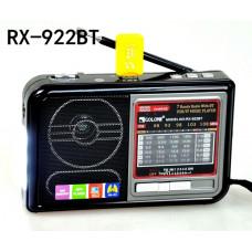 радиоприемник GOLON Bluetooth USB SD фонарик аккумулятор RX-922BT