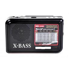 радиоприемник GOLON Bluetooth USB SD фонарик аккумулятор RX-933BT