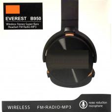 наушники беспроводные B950 EVEREST SD плеер мик радио Bluetooth