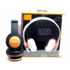 наушники беспроводные S300i SD плеер мик радио Bluetooth
