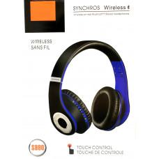 наушники беспроводные S990 SD плеер мик радио Bluetooth