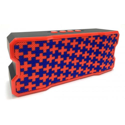колонка SLC-060i Bluetooth USB радио 4 динамика аккумулятор (1 сорт)