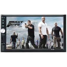 автомагнитола 2 DIN+сенсорный экран+MP5+Bluetooth+USB+AUX+радио 7012B