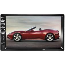 автомагнитола 2 DIN+сенсорный экран+MP5+Bluetooth+USB+AUX+радио 7018B
