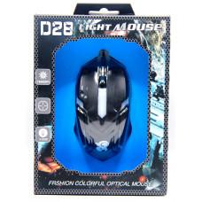 мышь проводная D28