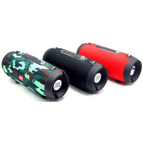 колонка KMS-E66+Bluetooth+USB+радио+4 динамика+подставка+аккумулятор (1 сорт)
