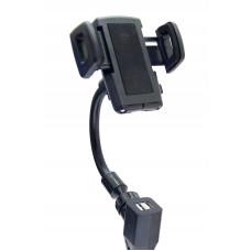 держатель для телефона 2 USB HC002