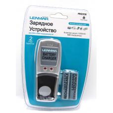 зарядное устройство LENMAR Мини NI-MH PRO22R в комплекте входят 2х2000mAh AA