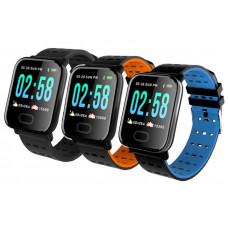 умные часы фитнес браслет A6