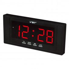 часы настенные VST-729/1 (красный) 1 сорт
