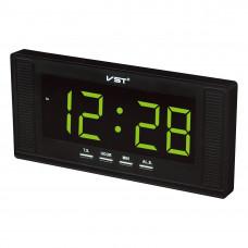 часы настенные VST-729/2 (зеленый) 1 сорт