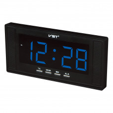 часы настенные VST-729/5 (ярко-синий) 1 сорт