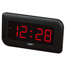 часы настенные VST-739/1 (красный) 1 сорт