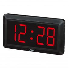 часы настенные VST-780/1 (красный) 1 сорт