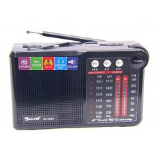 радиоприемник GOLON Bluetooth USB SD фонарик аккумулятор RX-150BT