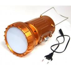 фонарик лампа зарядка от сети солнечная зарядка 5 режима 9299A