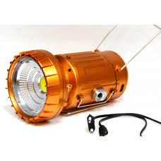 фонарик лампа зарядка от сети солнечная зарядка 5 режима 9299C