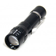 фонарик металлический+2 режима MX-1516