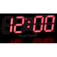 часы настольные+дата+температура VST-883/1 (красный) 1 сорт
