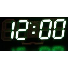 часы настольные+дата+температура VST-883/4 (ярко-зеленый) 1 сорт