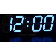 часы настольные+дата+температура VST-883/5 (ярко-синий) 1 сорт