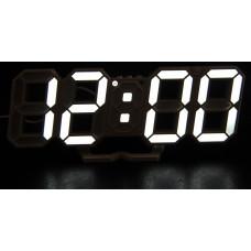 часы настольные+дата+температура VST-883/6 (белый) 1 сорт