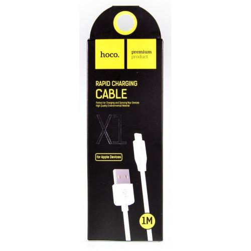 кабель iphone 1метр Hoco X1