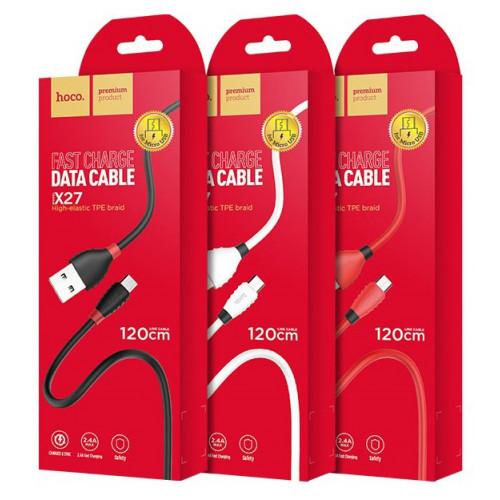 кабель Micro 1,2метра Hoco X27