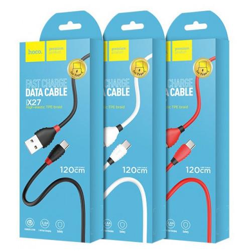 кабель Type-C 1,2метра Hoco X27