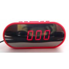 часы настольные зеркальные VST-712Y/1 (красный) 1 сорт