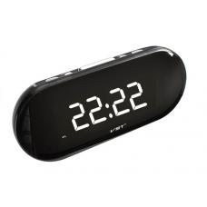 часы настольные VST-717/6 (белый) 1 сорт