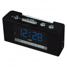 часы настольные+радио VST-740/5 (ярко-синий) 1 сорт