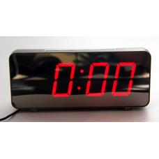 часы настольные зеркальные VST-763Y/1 (красный) 1 сорт