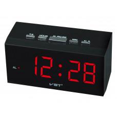 часы настольные VST-772/1 (красный) 1 сорт
