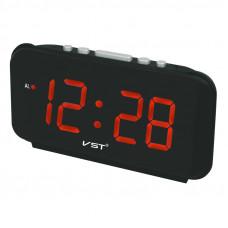 часы настольные VST-806/1 (красный) 1 сорт
