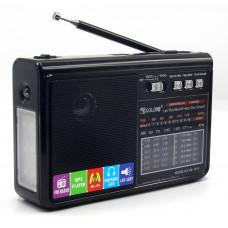 радиоприемник GOLON USB SD фонарик аккумулятор RX-1313