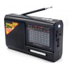 радиоприемник GOLON USB SD фонарик аккумулятор RX-2005