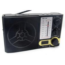 радиоприемник GOLON USB SD фонарик аккумулятор дисплей RX-2060