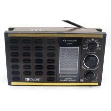 радиоприемник GOLON USB SD аккумулятор RX-302UAR