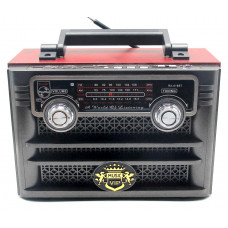 радиоприемник ретро GOLON Bluetooth USB SD аккумулятор пульт RX-618BT