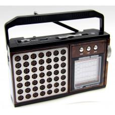 радиоприемник GOLON Bluetooth USB SD фонарик аккумулятор power bank RX-878BT