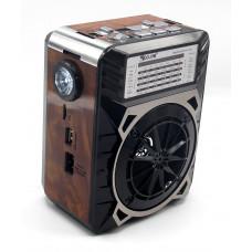 радиоприемник GOLON USB SD фонарик аккумулятор RX-9122