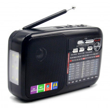 радиоприемник GOLON USB SD фонарик аккумулятор RX-917