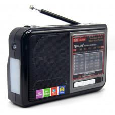 радиоприемник GOLON USB SD фонарик аккумулятор RX-922