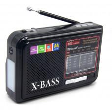 радиоприемник GOLON USB SD фонарик аккумулятор RX-933